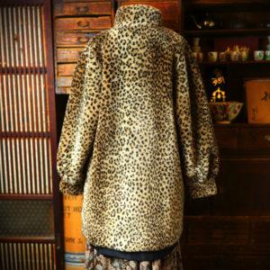 中目黒古着屋 minca | Leopard Blouson