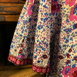 ヴィンテージ インド綿 ワンピース【1980's】India Cotton Onepiece