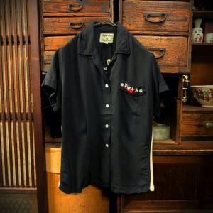 ヴィンテージ ボーリングシャツ【Crown Prince】【1950's】Vintage Bowling Shirts