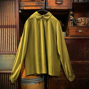 クリスチャン・ディオール 2way シャツブラウス【Christian Dior】2way Silk Shirts